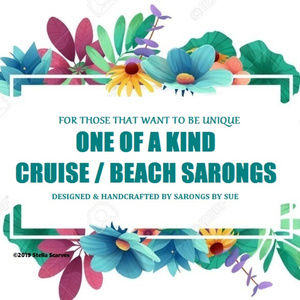 "Cruise Sarongs "" One Of A Kind """